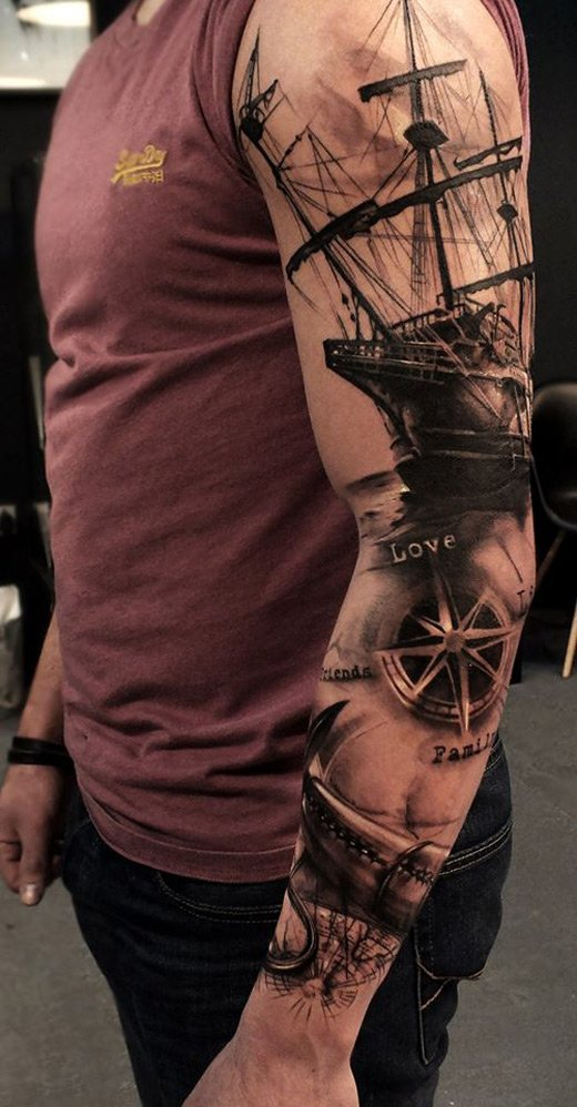 Nautical sleeve