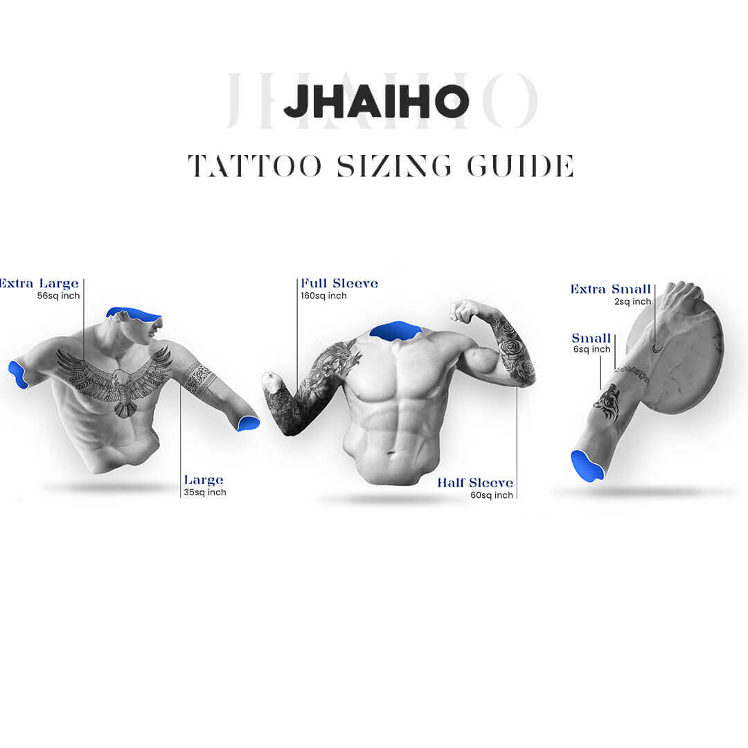 Tattoo sizing guide