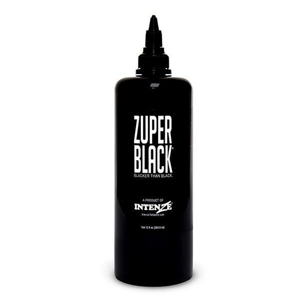 Intenze Tattoo Inks Zuper Black