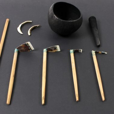 Tools used for traditional tribal tattoos