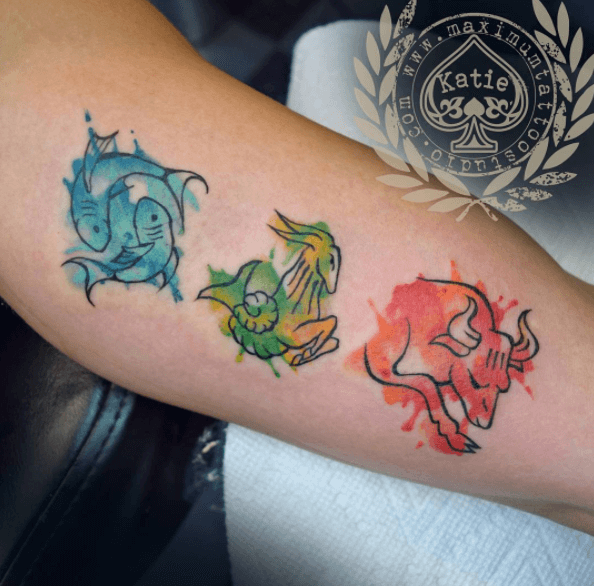 tattoos with zodiac signs