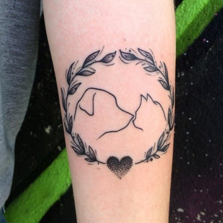 love tattoo for couples