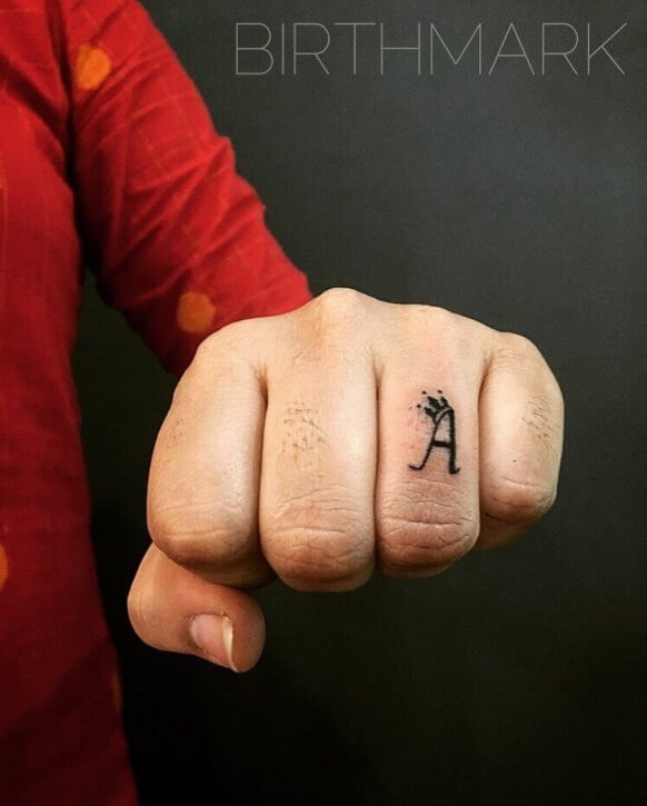 alphabet tattoos