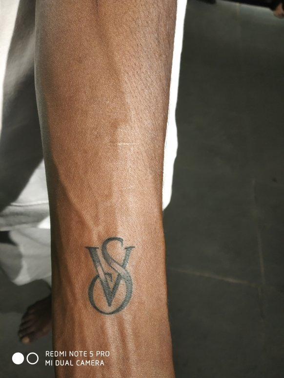 V S Tattoo Image
