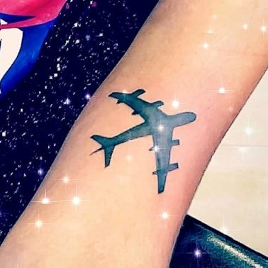 Airplane tattoo images
