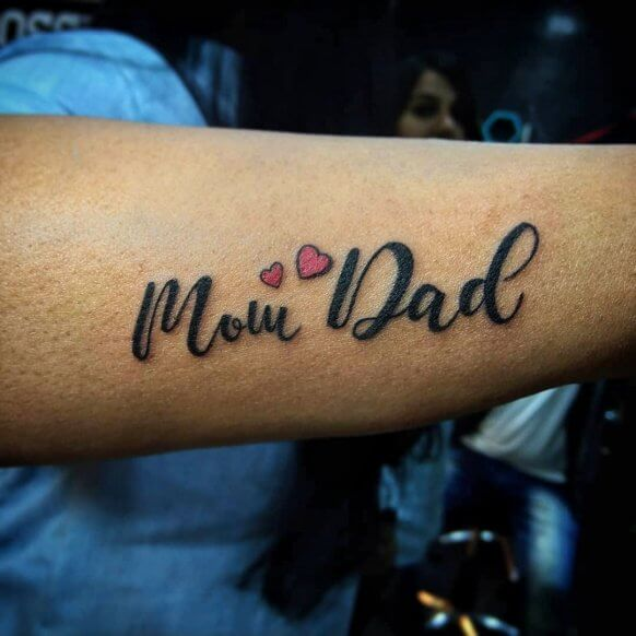 Maa Paa Tattoo Images