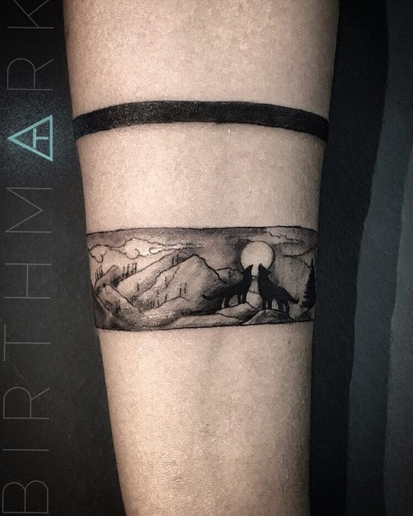 Scenic Belt Tattoo