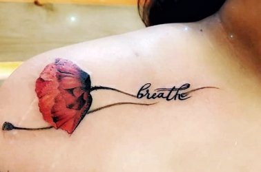 Carnation Flower Tattoo Image