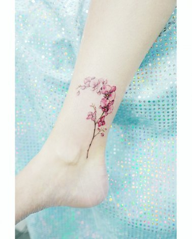Cherry Blossom Tattoo Image