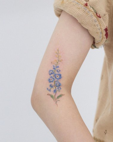 Cherry Blossom Colour Tattoo