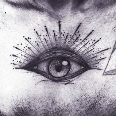 Surrealistic Eye Tattoo