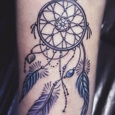 Fore Arm Dream Catcher Tattoo
