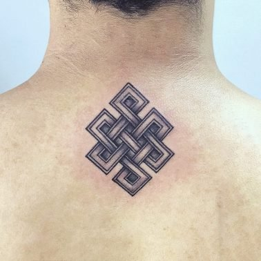 Eternal Knot Karma Tattoo