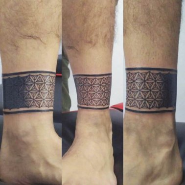Ankle Band Tattoo