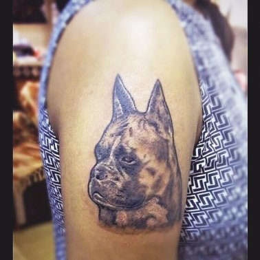 Abstract Pet Tattoo