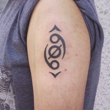 Abstract Symbolic Tattoo