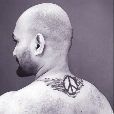 Peace Wings Tattoo