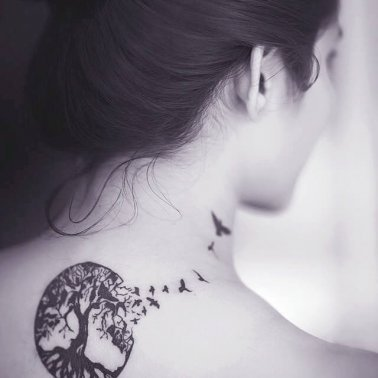 Symbolic Tree Tattoo