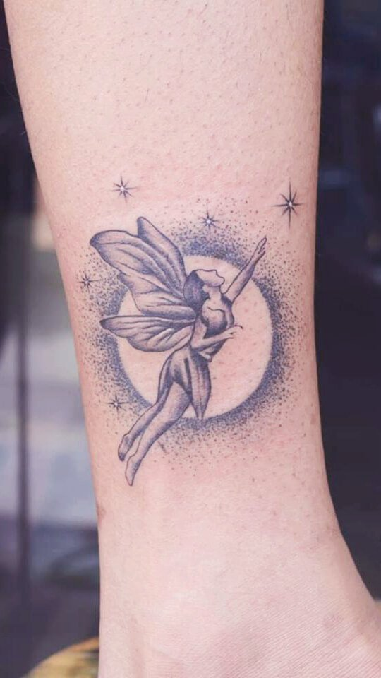 Abstract Fairy Tattoo