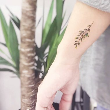 Minimalistic tree branch Tattoo