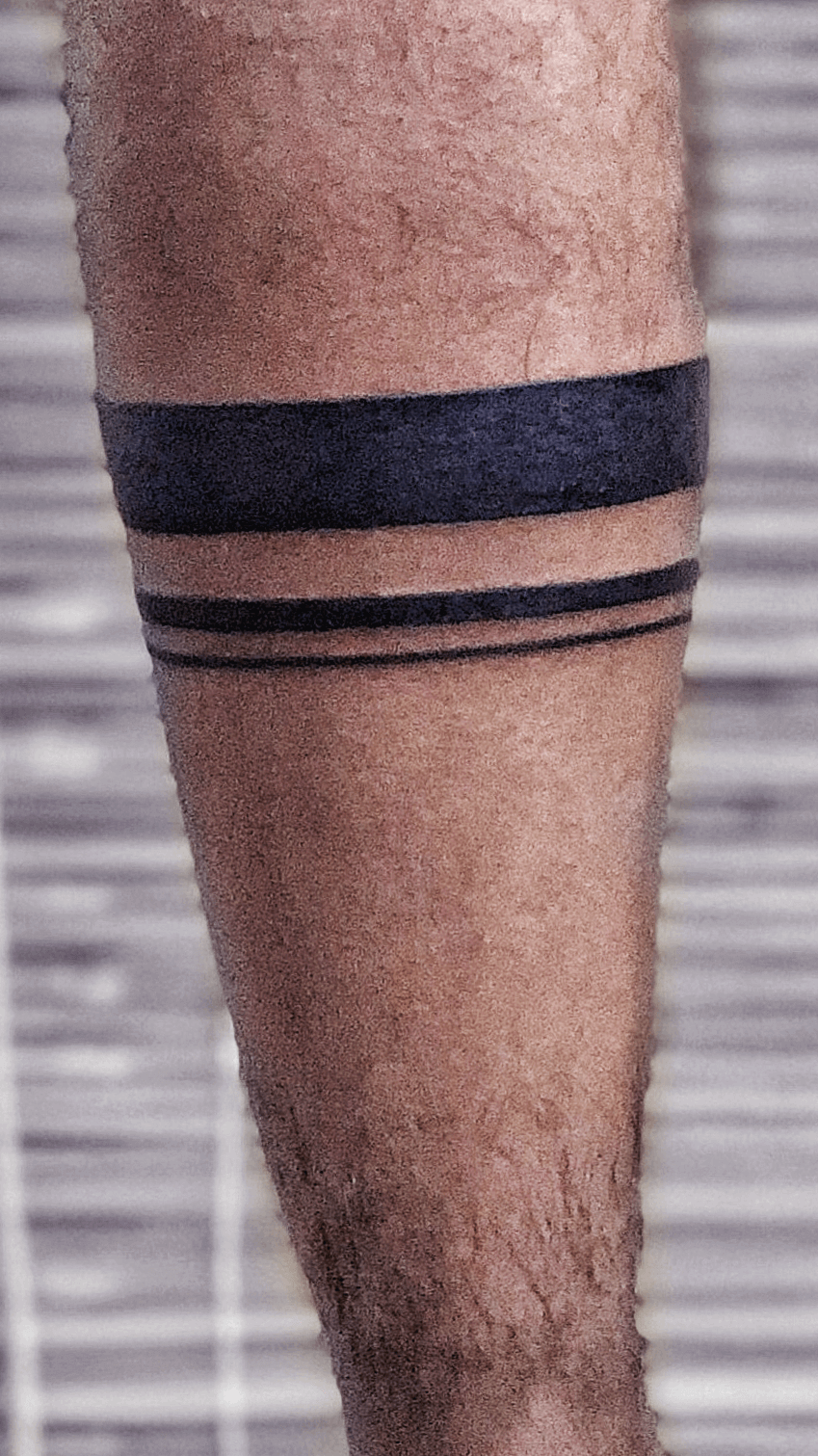 Solid Black Armband Tattoo