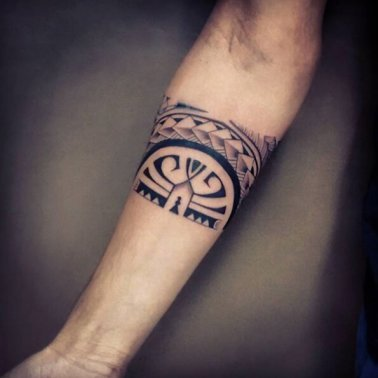 Abstract Armband Tattoo