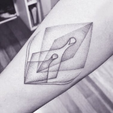 Minimal Geometric Tattoo