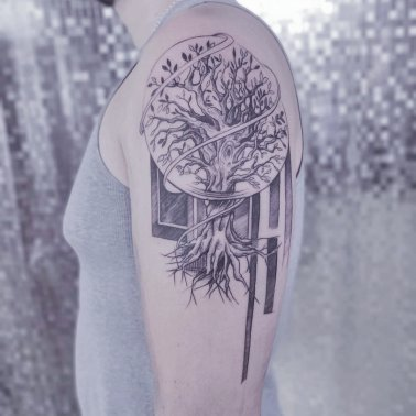 Bodhi Tree Tattoo