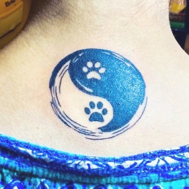 Paw Back Tattoo