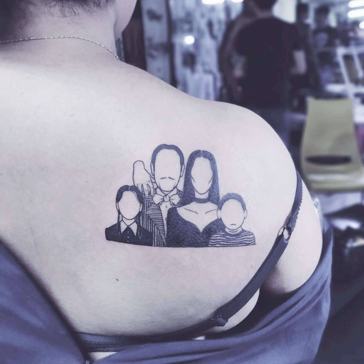 Adam's Family Tattoo