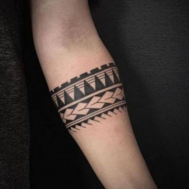 Tribal Band Tattoo