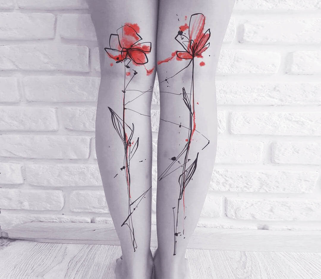 tattoos for calf muscle